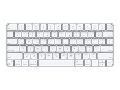 Apple Magic Keyboard with Touch ID Trådløs USA Hvit Sølv