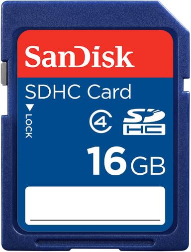 SanDisk Standard 16GB SDHC-geheugenkaart