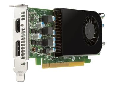 HP AMD RADEON RX550X 4GB LP DP CARD LOW PROFILE #demo