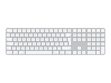 Apple Magic Keyboard with Touch ID /Keypad for Mac models with Apple silicon Trådløs Tysk