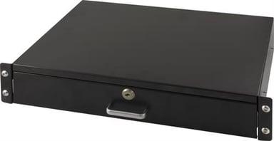Toten SA.0019.021 Utdragbar låsbar låda för rackmontage 2U