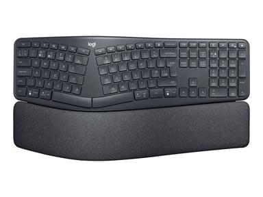 Logitech ERGO K860 Split Keyboard for Business Draadloos VS internationaal Zwart
