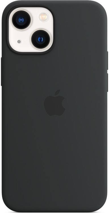 Apple Silicone Case With Magsafe iPhone 13 Mini Midnatt