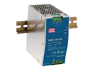 Mean Well PSU 230VAC/48VDC 240W for DIN railPSU 230VAC/48VDC 240W for DIN rail