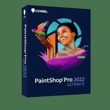 Corel Paintshop Pro 2022 Ultimate Mini Box