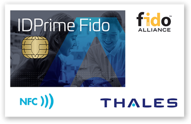 Thales SafeNet IDPrime 3940 FIDO SmartCard