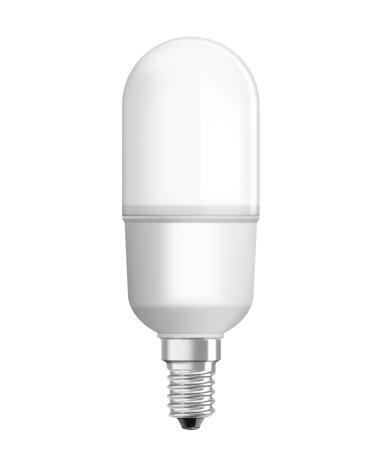 LEDVANCE Ledvance LED Stick 60W/827 Frosted E14