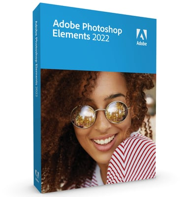 Adobe Photoshop Elements 2022 Win/mac Eng Box