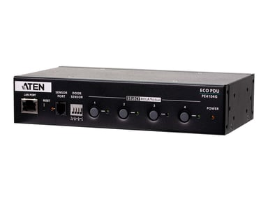 Aten 4-Outlet 1U half-rack PDU switched by outlet 10A, 4xC13