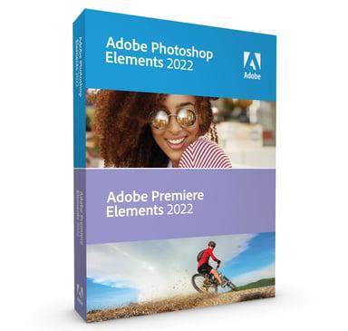 Adobe Photoshop & Premiere Elements 2022 Win/mac Eng Box