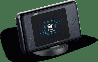 D-Link DWR-2101 5G WiFi 6 Mobilt Hotspot