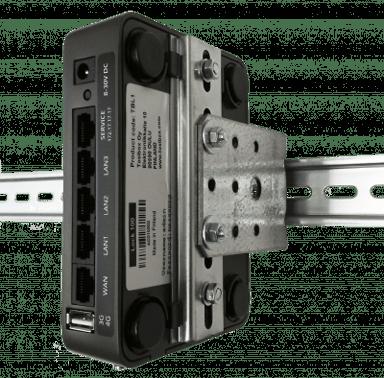 Tosibox DIN-monteringssett Lock 150