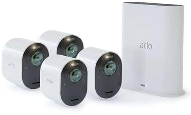 Arlo Ultra 2 Trådløs overvåking 4-pakning Hvit