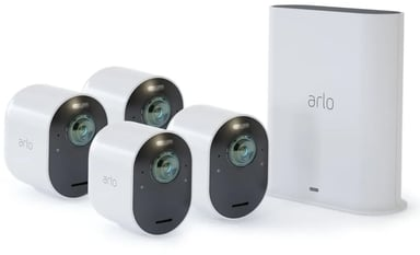 Arlo Ultra 2 Wireless surveillance 4-pack Wit