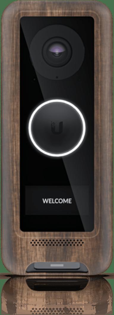 Ubiquiti UniFi Protect G4 Doorbell Cover Wood