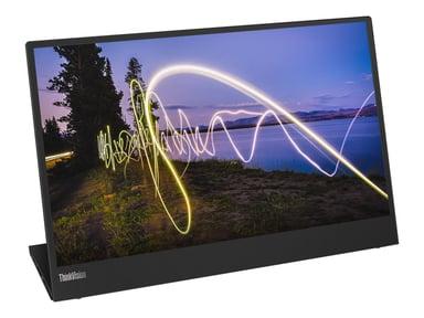 "Lenovo ThinkVision M15 15,6"" FHD IPS 16:9 Bærbar 15.6"" 1920 x 1080 16:9"