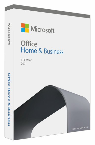 Microsoft Office Home & Business 2021 Fin Box Medialess