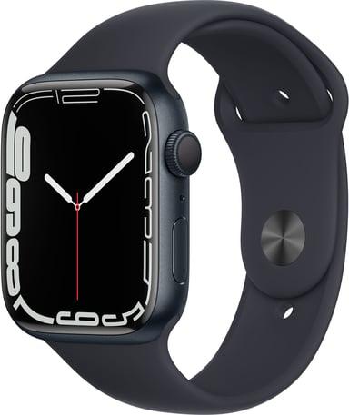 Apple Watch Series 7 GPS, 45mm Midnight Aluminium Case with Midnight Sport Band
