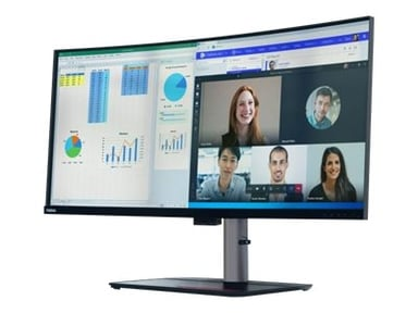 """Lenovo THINKVISION P40W-20 39.7"""" ULTRA-WIDE CURVED MONITOR # Demo 39.7"""" 5120 x 2160 21:9"""