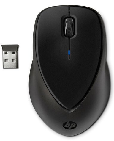 HP Wireless Mouse Comfort Grip Mus Trådlös