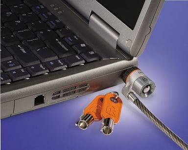 Kensington MicroSaver Custom Notebook Lock Master keyed