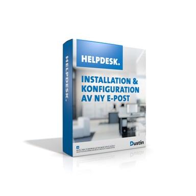 Dustin Helpdesk - Installtion & Konfiguration Av E-Post null