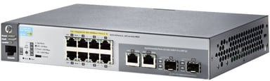 Aruba 2530 8xGbit, SFP PoE+ 67W Web-mgd Switch null