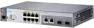 Aruba 2530 8xGbit, SFP PoE+ 67W Web-mgd Switch