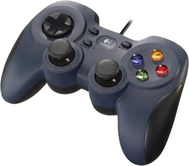 Logitech Gamepad F310 Blauw Zwart