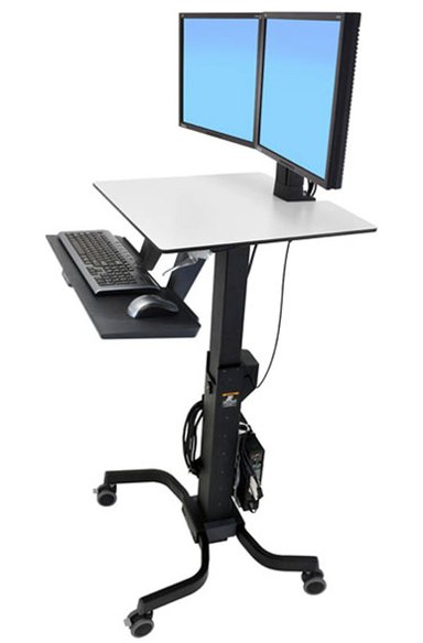 Ergotron WorkFit-C Dual Sit-Stand Workstation null