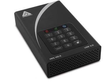 Apricorn Aegis Padlock DT ADT-3PL256F-6000 6TB 6TB Svart