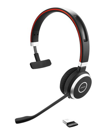 Jabra Evolve 65 MS Mono Headset Zwart