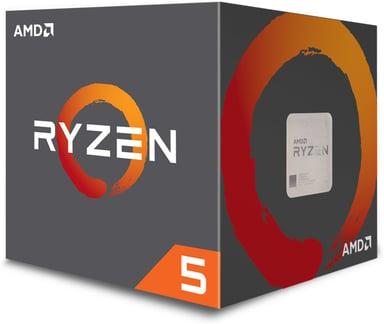 AMD Ryzen 5 2600 W Stealth 3.4GHz Socket AM4 Prosessor