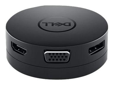 Dell Mobile Adapter DA300 USB-C Minitelakointiasema
