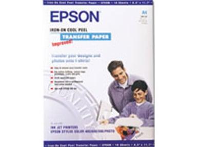 Epson Papper Iron-On T-Shirt TRANSFER MEDIA 10-Ark 124g