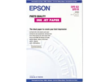 Epson Papper Photo Quality A3+ 100-ark 102G
