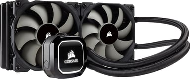 Corsair Hydro Series H100x High Performance Liquid CPU Cooler
