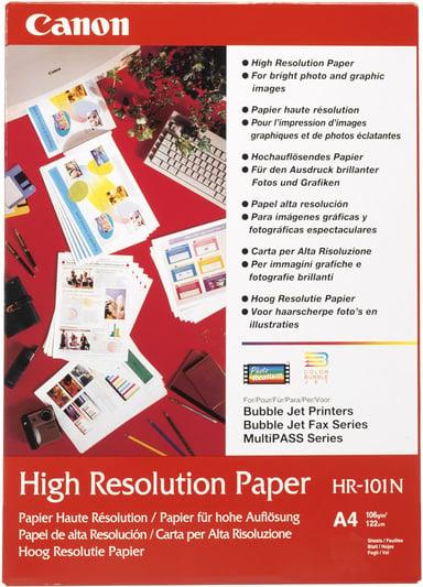 Canon Papir High Resolution Hr-101N A4 50-ark 106G