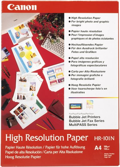 Canon Papper High Resolution Hr-101N A4 50-ark 106G