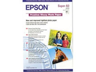 Epson Papir Photo Premium Glossy A3+ 20-Ark 255g