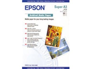 Epson Papir Archival Mattert A3+ 50-Ark 192g
