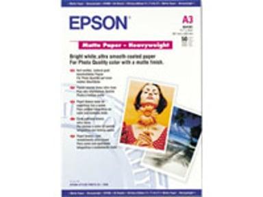 Epson Papir Heavyweight Mattert A3 50-Ark 167g