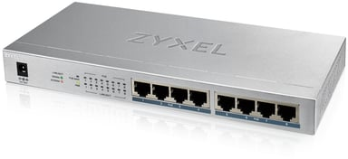 Zyxel GS1008HP 8xGbit Un-mgd PoE+ 60W Switch