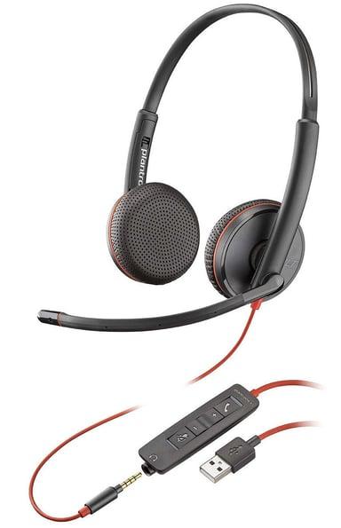 Poly Blackwire C3225 USB Zwart