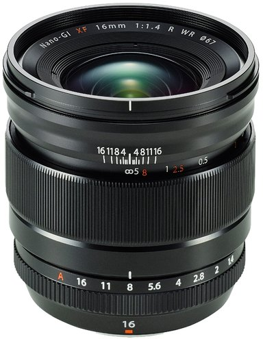 Fujifilm Fujinon XF 16/1,4 R WR