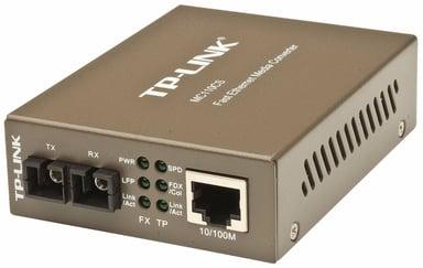 TP-Link MC110CS Valokuitu-mediamuunnin RJ-45 SC single-mode