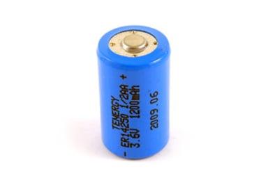 Tenergy Battery ER14250 Lithium 3.6V 1/2AA 1-Pack