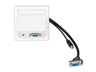 Vivolink Wall Connection Box VGA 3,5mm