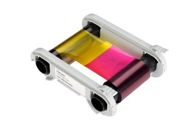 Evolis Färgband Color YMCKO + Plastkort 100st 0.76mm - Badgy 200
