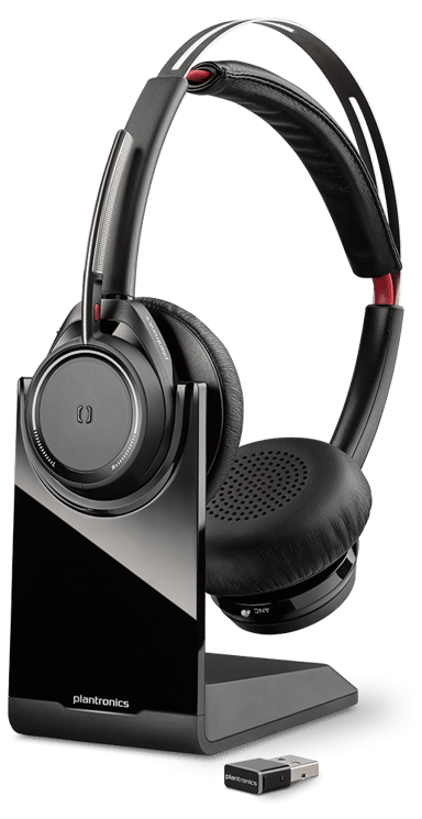 Poly Voyager Focus UC Microsoft B825-M Headset Musta